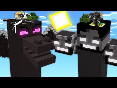 ЧАНК ИССУШИТЕЛЬ ПРОТИВ ЧАНК ЭНДЕР ДРАКОН В МАЙНКРАФТ 100% Троллинг Ловушка Minecraft Битва Мобов
