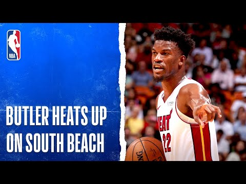 Jimmy Butler Drops 21 PTS In Heat Debut!