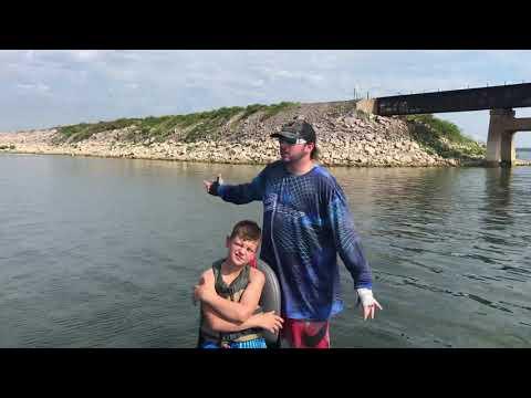 Lake Texoma Striper Fishing Report.