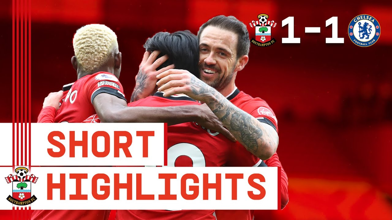 90-SECOND HIGHLIGHTS: Southampton 1-1 Chelsea | Premier League