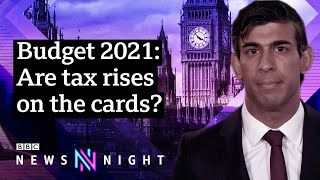 Budget 2021: Looking ahead to Chancellor Sunak's March announcement - BBC Newsnight