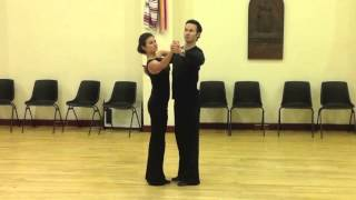 Slow Waltz Intermediate Silver Routine - Inspiration 2 Dance London