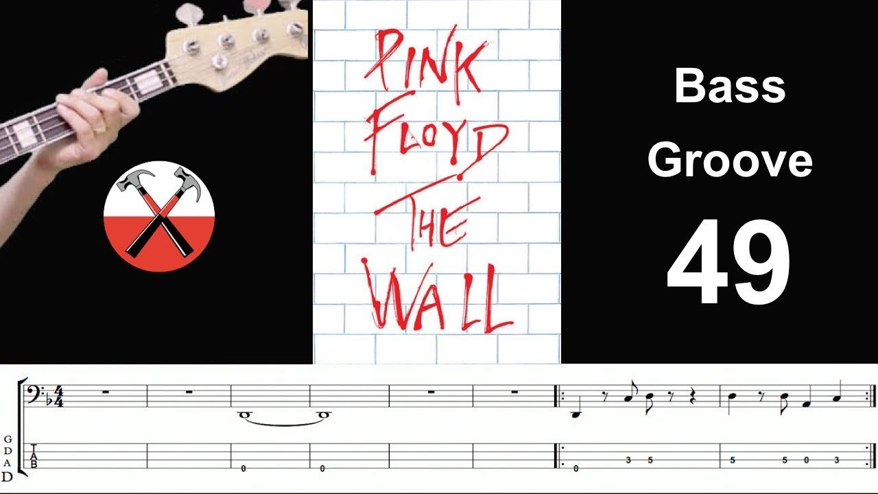 Another Brick In The Wall Pink Floyd How To Play Bass Groove