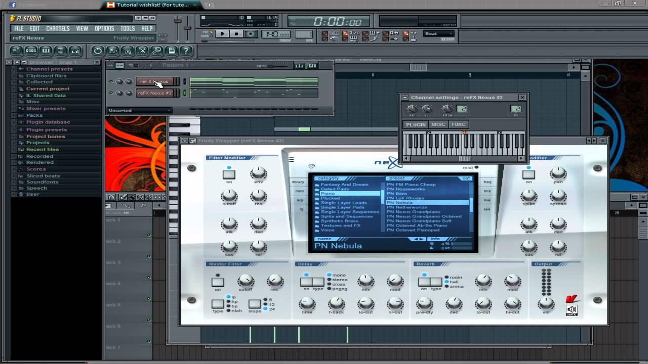 how to find the key of a song fl studio