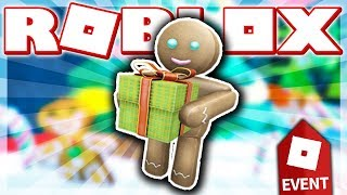 HOW TO GET THE GINGERBREAD MAN!! (ROBLOX HOLIDAY EVENT - Super Bomb Survival!)