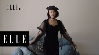 The Perfect Vintage Little Black Dress with Sami Miro | ELLE