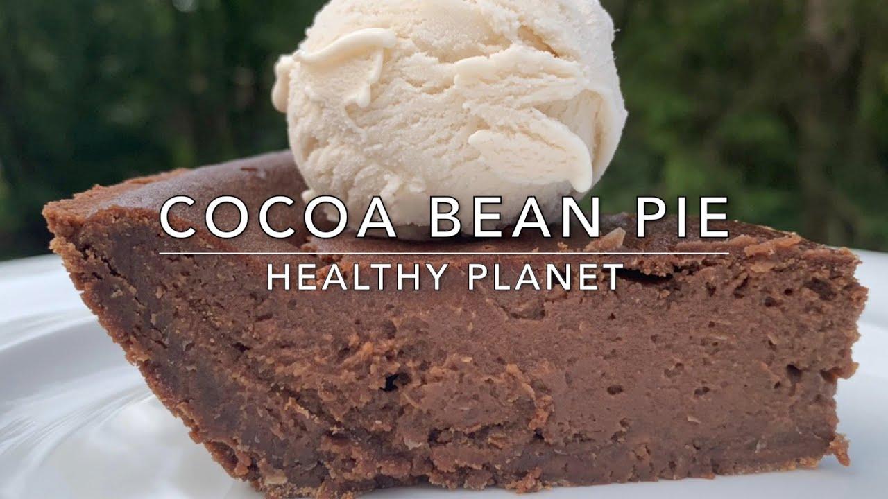 Cocoa Bean Pie Vegan Dessert