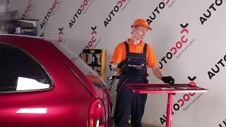 Como e quando mudar Escovas do limpa parabrisas traseiro e dianteiro OPEL CORSA B (73_, 78_, 79_): vídeo tutorial