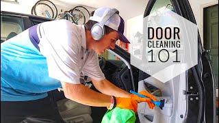 Detailing 101: How I clean an interior door!