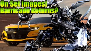 Transformers 5 - Barricade Returns? New modes for Bumblebee and Hound