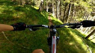 Predigtstuhl Singletrack Descent - Radstadt, Austrian Alps | GoPro MTB
