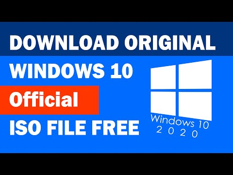 Windows 10 Original ISO File Download For Free | 2020  |