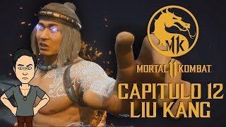Mortal kombat 11- Capitulo 12 El final de la era (Liu Kang Dios del fuego & Final alternativo)