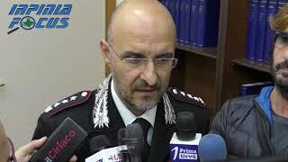 Il saluto di commiato del Comandante provinciale dei Carabinieri Franco Di Pietro