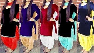 Top velvet Punjabi Suit Designs 2018    Latest Salwar Kameez Design   Latest Punjabi Suit Design