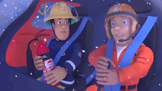 Fireman Sam US | Helicopter Rescue | Stormy Night Train Rescue