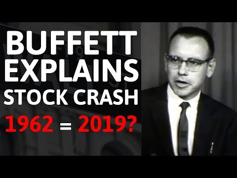 Warren Buffett Explains the Stock Crash of 1962 & Why It Matters In 2019