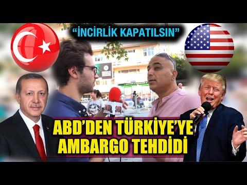 S400'ler geldi, ABD Türkiye'ye ambargo uygularsa ne düşünürsünüz? (İlginç YanıtlarAldık)