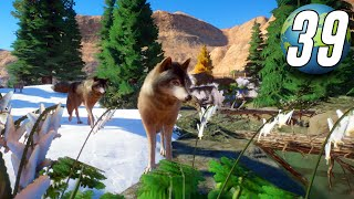 Planet Zoo Franchise - Part 39 - Snowy Timber Wolf Habitat!