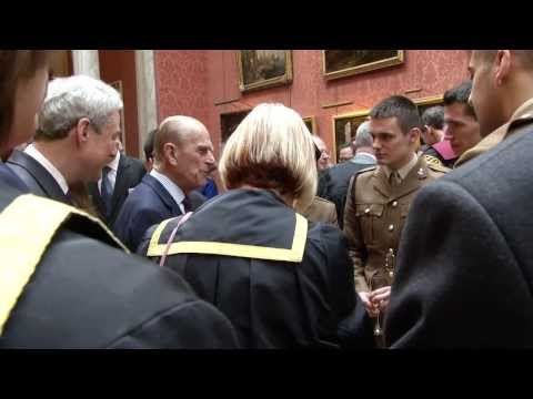 Queen's Prize reception at Buckingham Palace