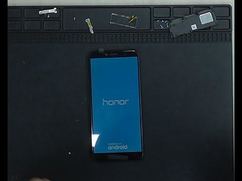 Honor 7A Pro подробная замена дисплея