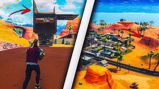 'NEW' GET INSIDE THE MOUNTAIN IN PARADISE PALMS USING THIS INSANE GLITCH - FORTNITE GLITCHES