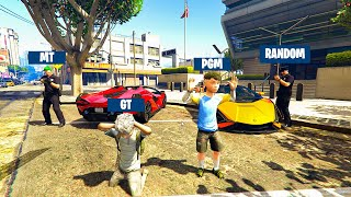 GTA 5 RP : CATCHING the Richest Theif KID'S !! MALAYALAM