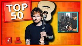Baixar TOP 50 MAIORES canais de música do Youtube no MUNDO (Canal KondZilla, Ed Sheeran, Justin Bieber)