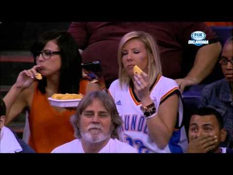 Bibi Jones At A Thunder Suns Game In Phoenix