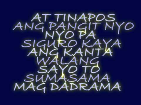Hoy Tanga - cue c with lyrics