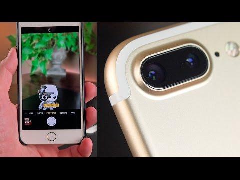 Apple iPhone 7 Plus: Portrait Demo (iOS 10.1)