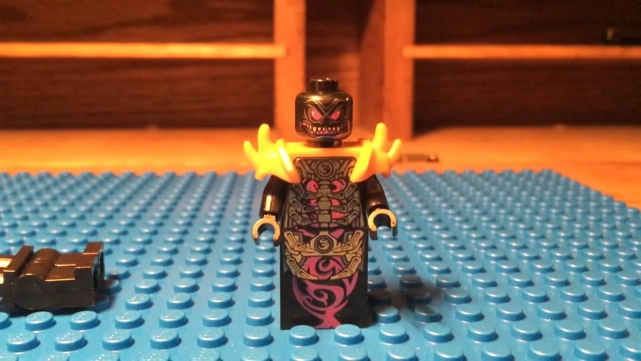 ninjago overlordgolden master minifigure review youtube