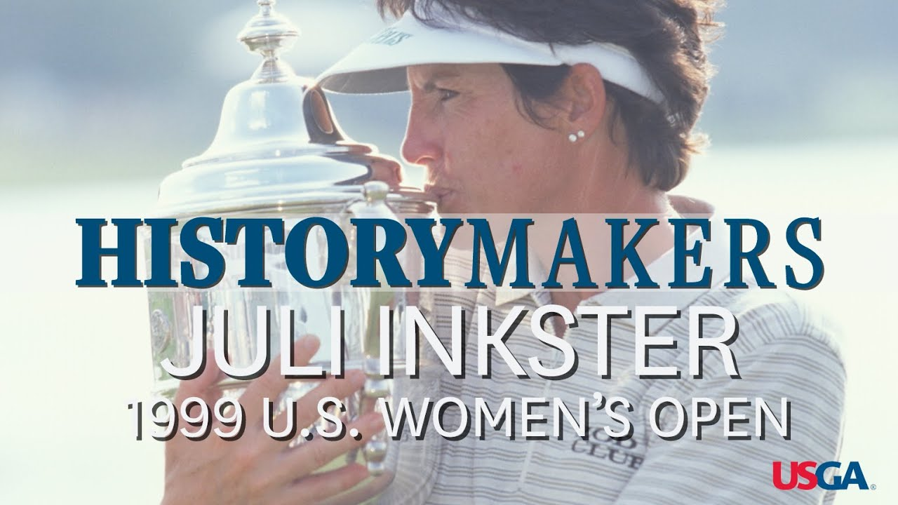 History Makers: Inkster Sets Women's Open Scoring Record in 1999
