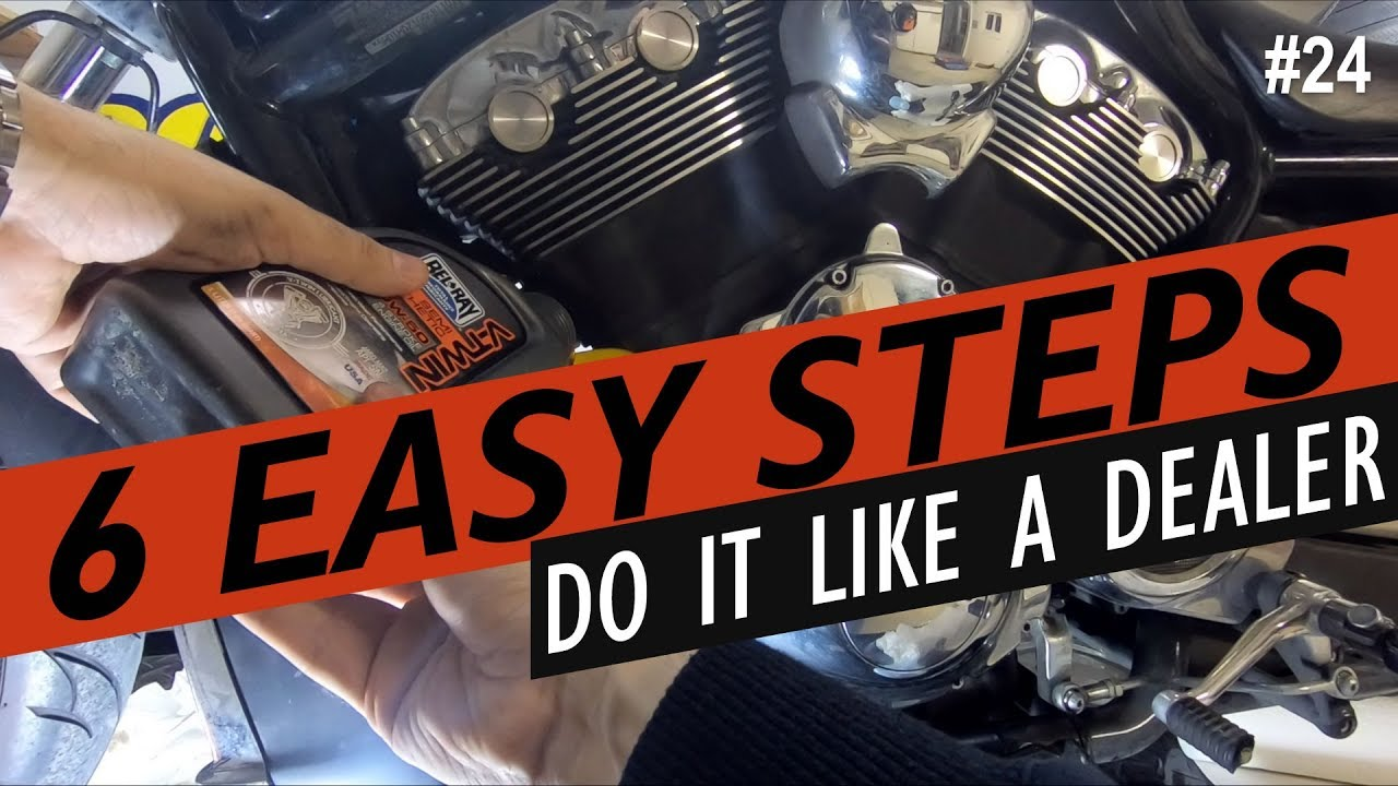 how to do an oil change on a harley-davidson v-rod