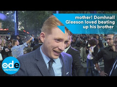 mother!: Domhnall Gleeson loved beating up his brother