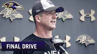 What to Expect from Coach Harbaugh's Press Conference  | Ravens Final Drive
