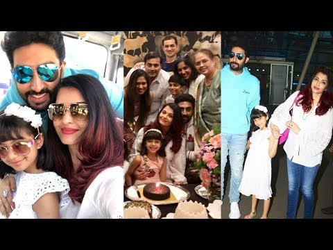 Abhishek Bachchan gives Surprise birthday party to wife Aishwarya Rai Bachchan in Goa !