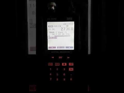 AOR AR-DV10 IN AKTION / ACTION Digital Funk Scanner Radioscannerr