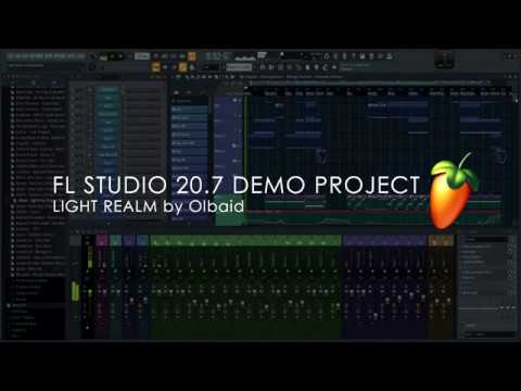 FL STUDIO 20.7 Demo Project | Light Realm By Olbaid