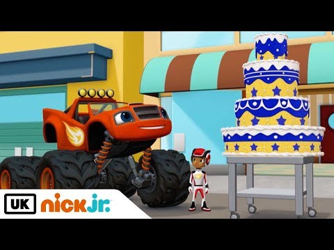 Blaze and the Monster Machines   Catch That Cake   Nick Jr. UK