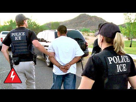 Zealous Police Arrest Potential Illegal Immigrants | Border Force