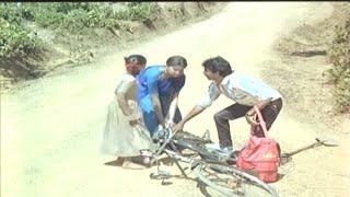 Sudharani Cycle Dash to Ramesh Aravind Village Comedy Scenes | Panchama Veda Kannada Movie