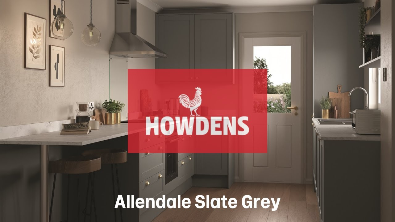 Allendale Slate Grey Shaker Style Kitchen Youtube