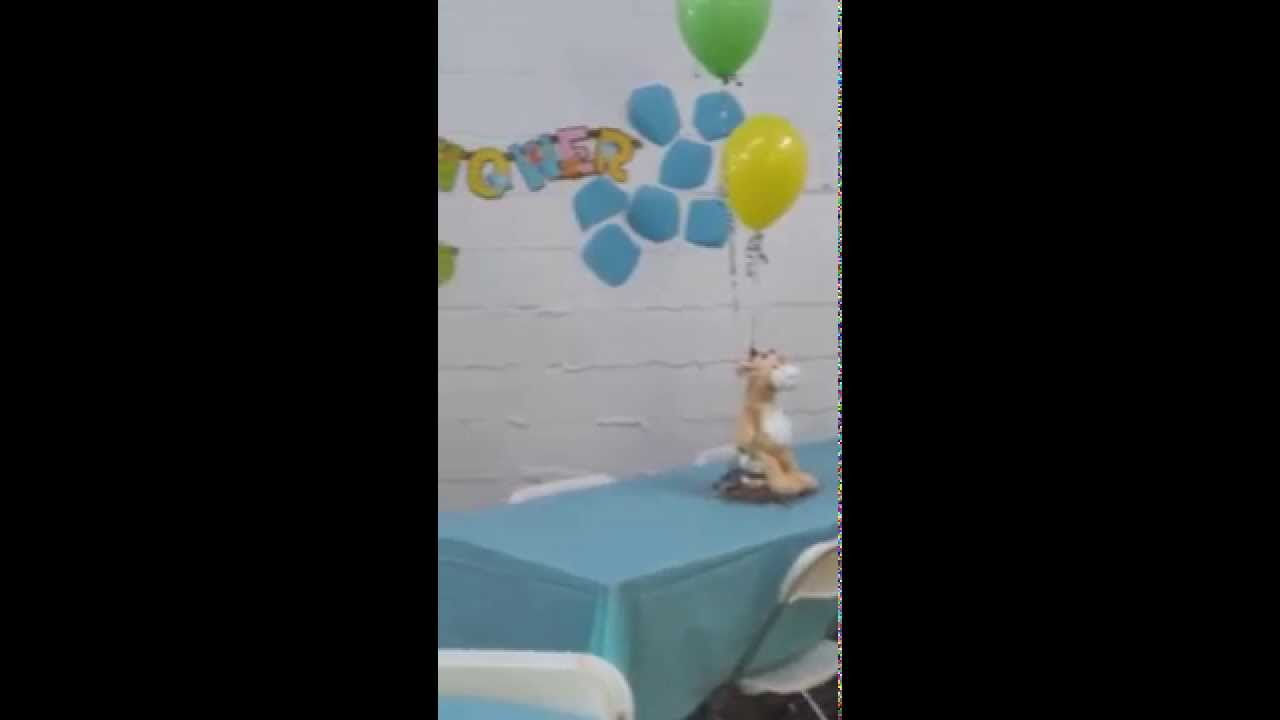 Welcome baby rashawn baby shower decor youtube for Welcome home decorations for baby