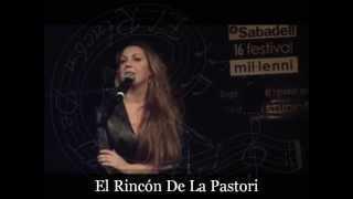 """Niña Pastori """"Dibujame Deprisa"""" - Palau De La Musica Catalana"""