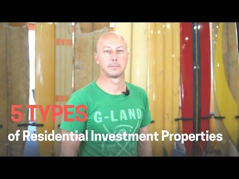 5 types of Residential Investment Properties