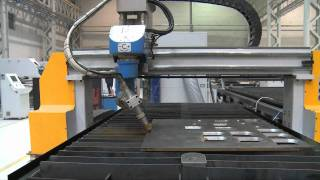5 axis Plasma with Hypertherm .wmv