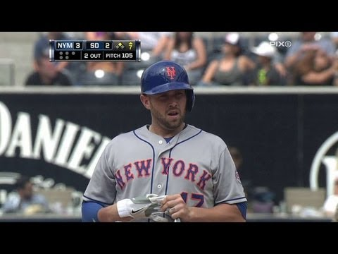 NYM@SD: Mets retake lead on Brown's two-out double
