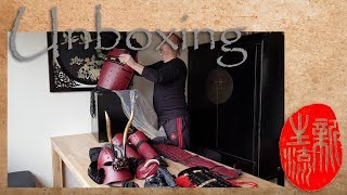 Yoroi unpacking - Iron Mountain Armory Samurai Armor