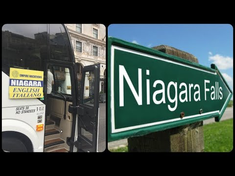 New York City To Niagara Falls By Bus 2017